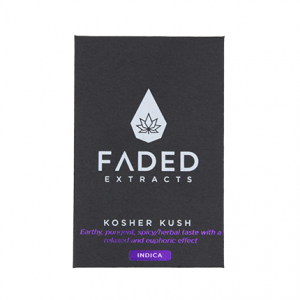 Kosher Kush Shatter by Faded Extracts