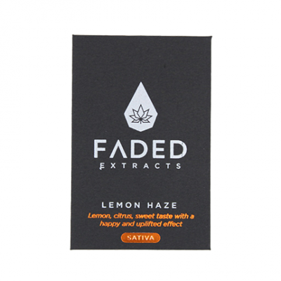 Lemon Haze Shatter by Faded Extracts